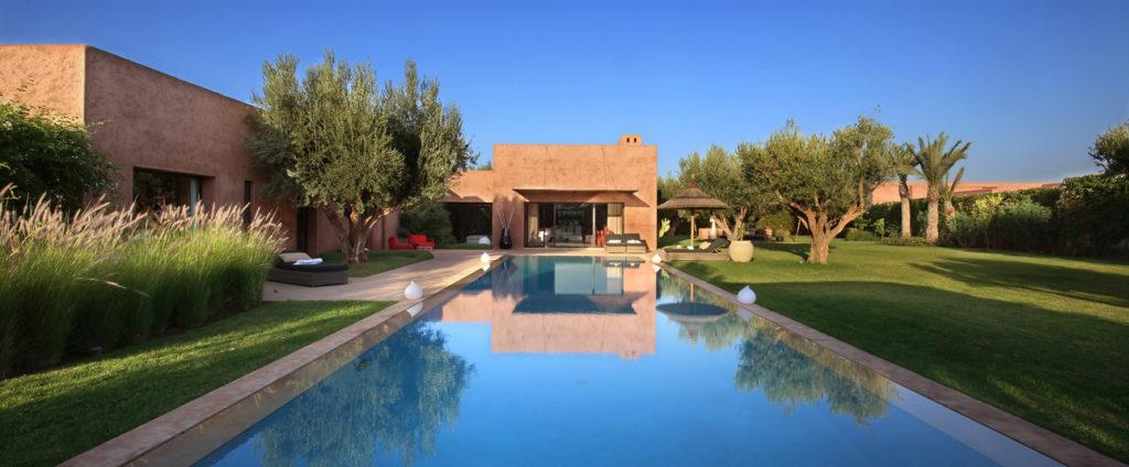 villa de prestige à marrakech