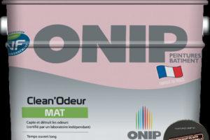 Une peinture anti mauvaises odeurs disponible en France